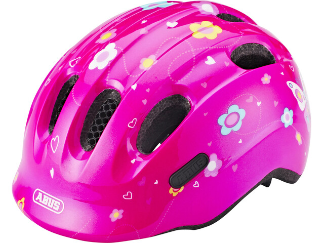 ABUS Smiley 2.0 Helmet pink butterfly